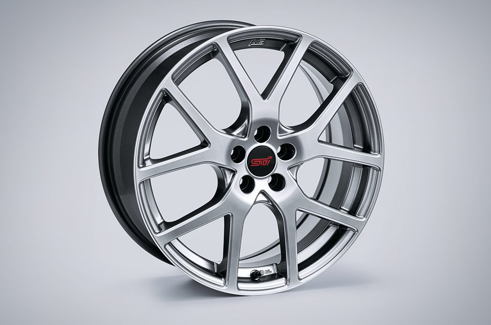 STI ENKEI Alloy Wheel Set (4) - 17in (Silver)