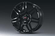 STI Alloy Wheel Set (4) - 18in (Black)