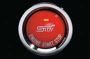 Push Start Engine Switch (Red)