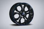 """Alloy Wheel Set 18"""" - Blue"""